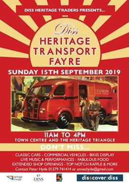 Diss Heritage Transport Fayre