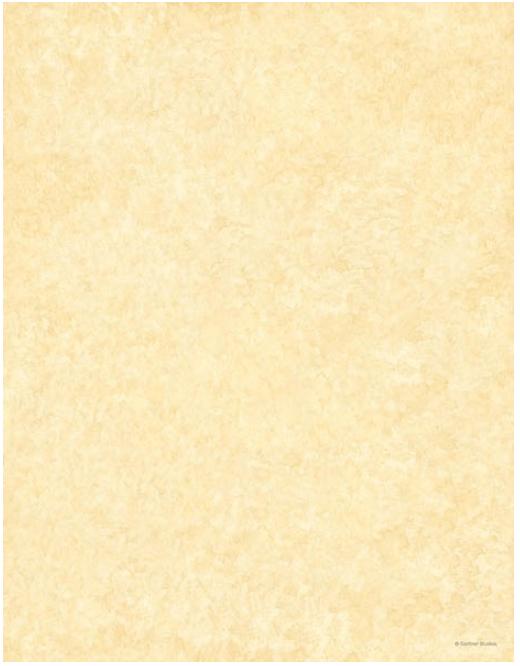 ivory parchment paper letterhead