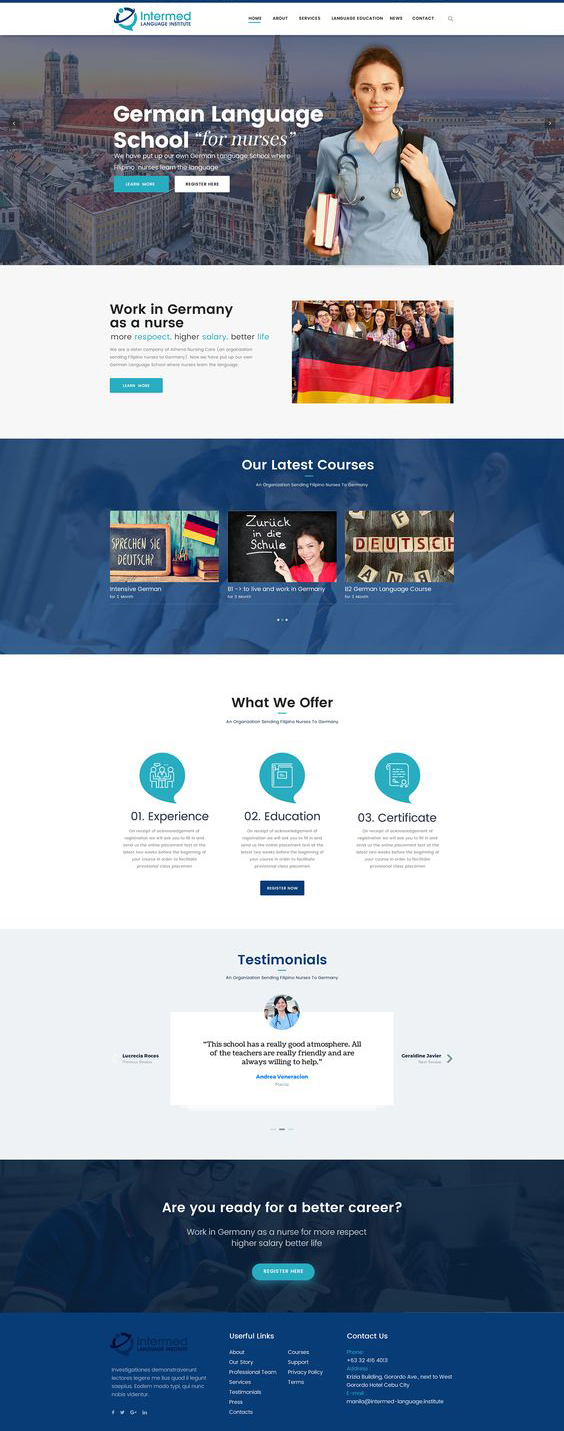 Readit is a remarkable creative blog website template with a bold and impactful design. 99 Inspirational Website Design Templates Designerpeople