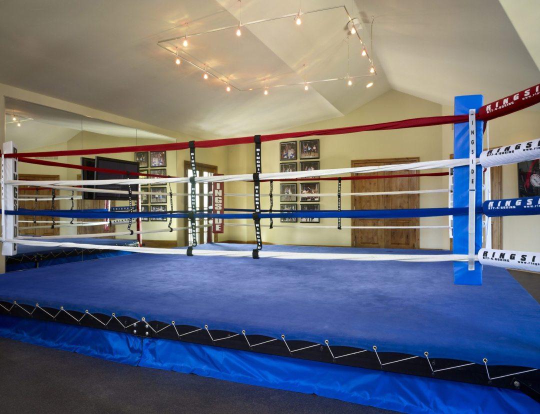 basement boxing ring