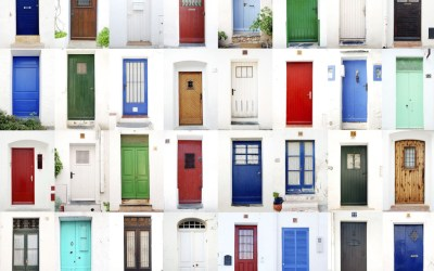Front Door Color Makeover- Create a Grand Entrance at Your Door Step