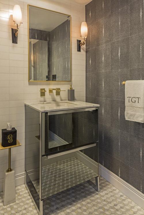 Ann Baumgartner Design bathroom