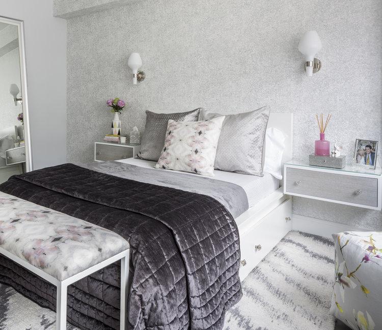 Ann Baumgartner Design bedroom