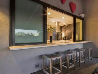Scottsdale exterior , pam, indoor outdoor kitchen