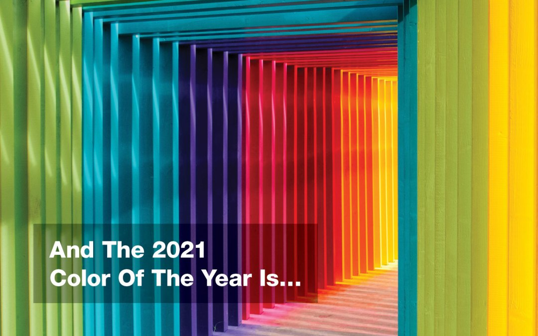 What is the 2021 Color of the Year for Home Design?