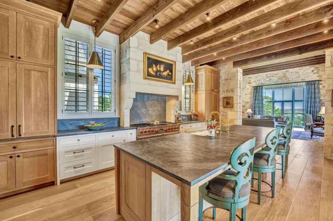 Doss Texas Custom ranch Home kitchen lenore 2