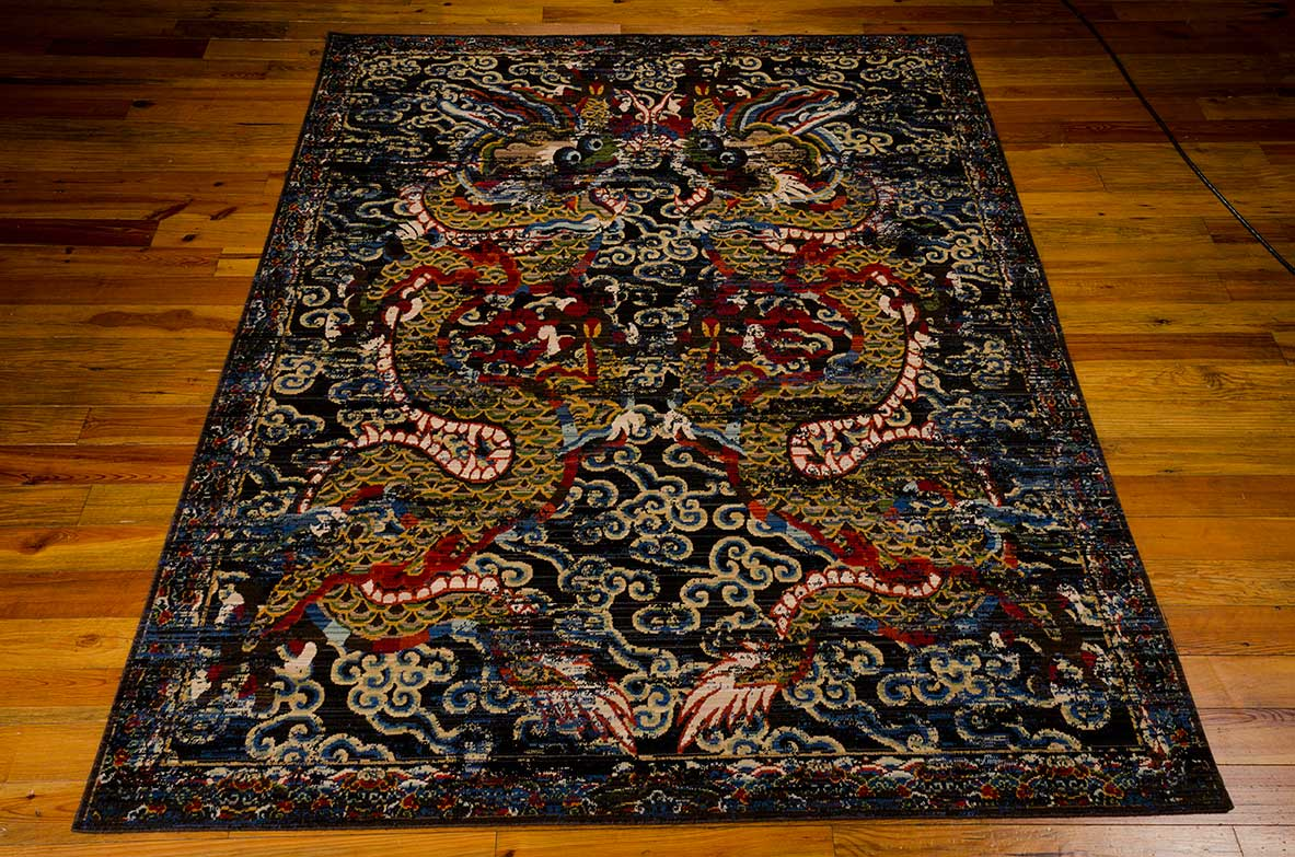 DYN05 MIDNIGHT  EMPRESS MIDNIGHT  BBL16 DYNASTY  Long Island NY  Designer Rugs  Carpet