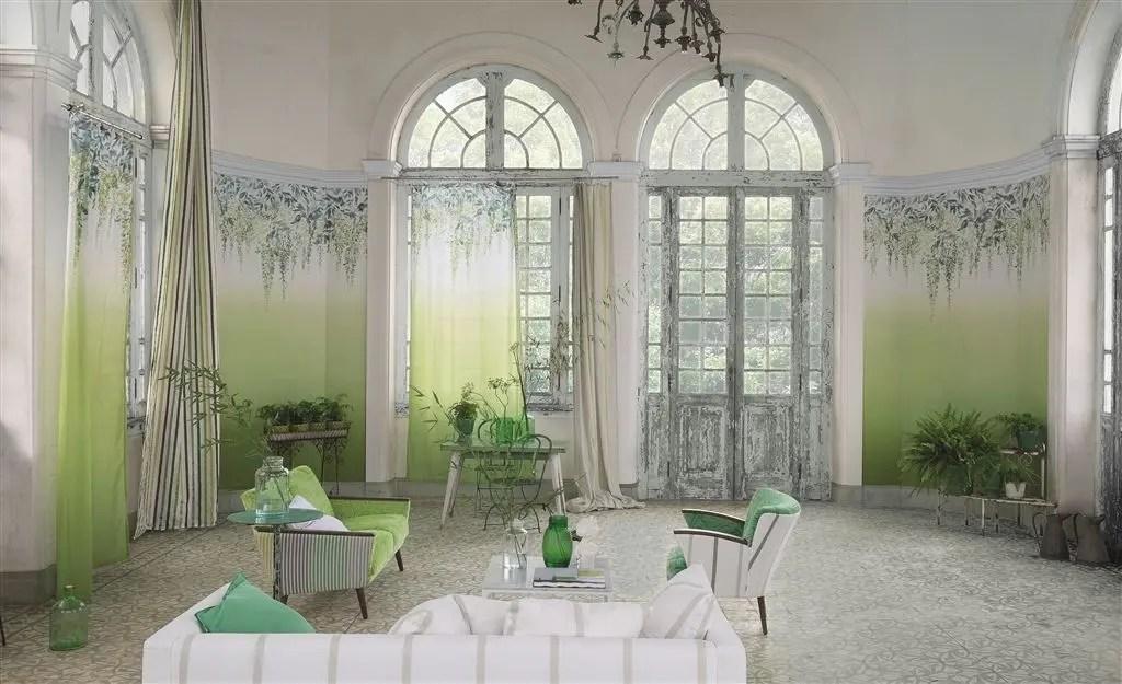 lime sofa chair lazy boy sleeper air mattress replacement shanghai garden fabrics | designers guild