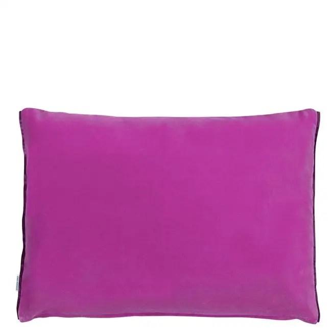 cassia magenta cushion reverse