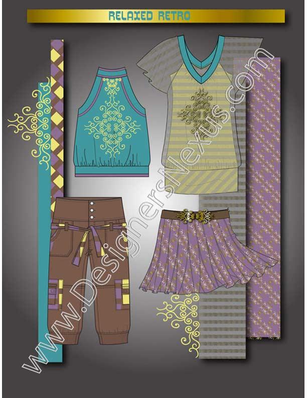 V2 Fashion Design Portfolio Example Layout  Designers Nexus