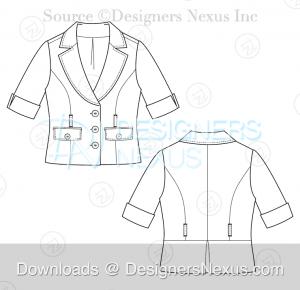 Technical Fashion Drawing: 250+ Free Vector Flat Fashion