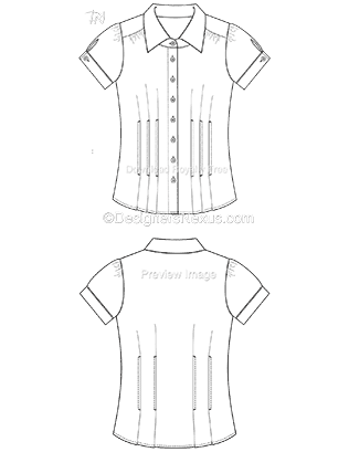 Fashion Technical Drawing: 250+ Free Vector Fashion Flat