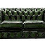 Chesterfield Couch Green