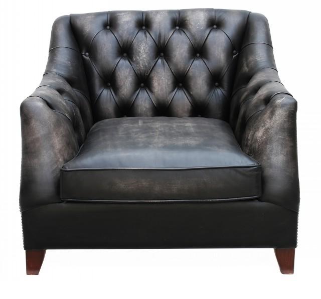distressed leather armchair uk ergo chairs for office viscount william vintage designer sofas 4u