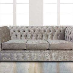 Chesterfield Sofa Buy Uk Nautical Table Designersofas4u Oyster Velvet 3 Seater Settee Senso Offer