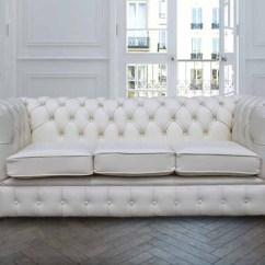 Chesterfield Sofa Buy Uk Wood Chair Set White Git Samryecroft Ninja Leather 3 Seater Designersofas4u Rh Co Bed With Crystals