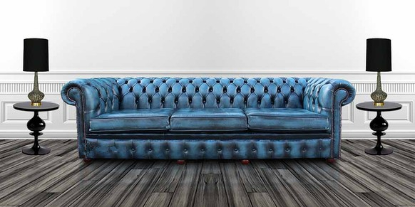 4 seater leather sofa prices super light bed buy blue chesterfield uk at designersofas4u settee antique offer 3 cushion style