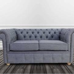 Grey Fabric Sofa Uk Restoration Hardware Leather Reviews Chesterfield Sofas On Finance Designersofas4u 2 Seater Settee Zoe Granite Offer
