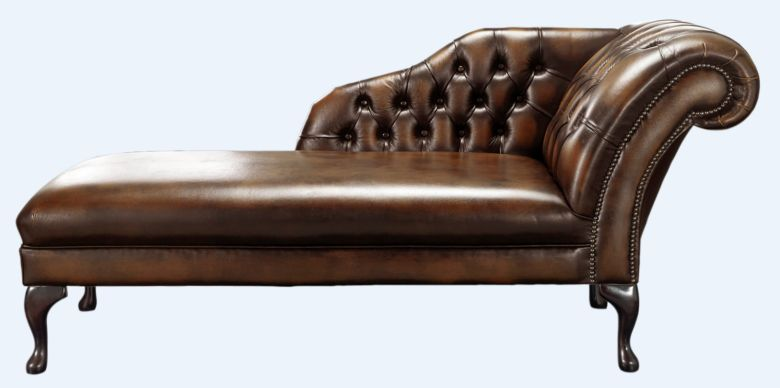 high back chesterfield sofa reupholster dublin chairs uk designer sofas 4u chaise antique autumn tan leather lounge day bed