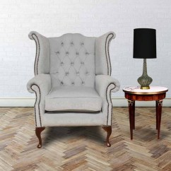 Egg Chairs For Sale Pub Chesterfield Queen Anne High Back Wing Chair | Designersofas4u
