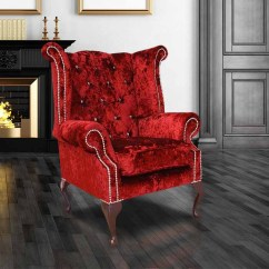 Chesterfield Sofa Leather White And Bed Bugs Wine Velvet Swarovski Wing Chair ...