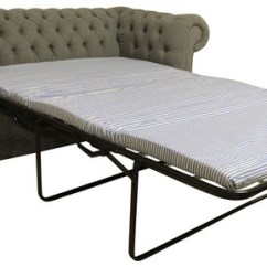 Chesterfield Sofa Bed Chair Sets Online Buy Grey Fabric Designersofas4u 2 Seater Sofabed Verity Plain Steel