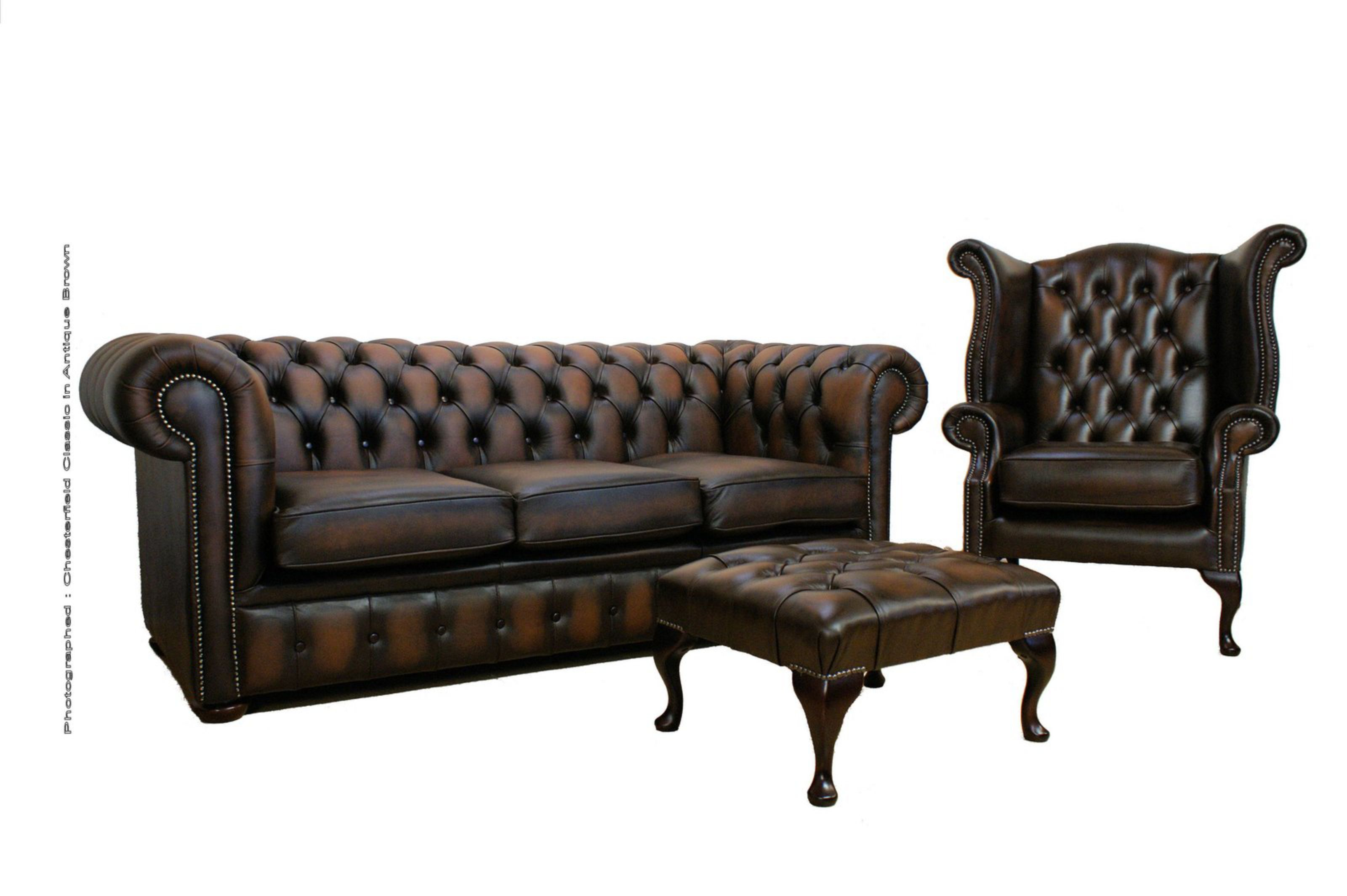chesterfield sofa buy uk camper bed diy brown leather suite made in designersofas4u