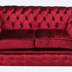 Modena 2 Seater Reclining Leather Sofa Craigslist Atlanta Pillarbox Red Velvet Chesterfield Designersofas4u Balmoral Settee