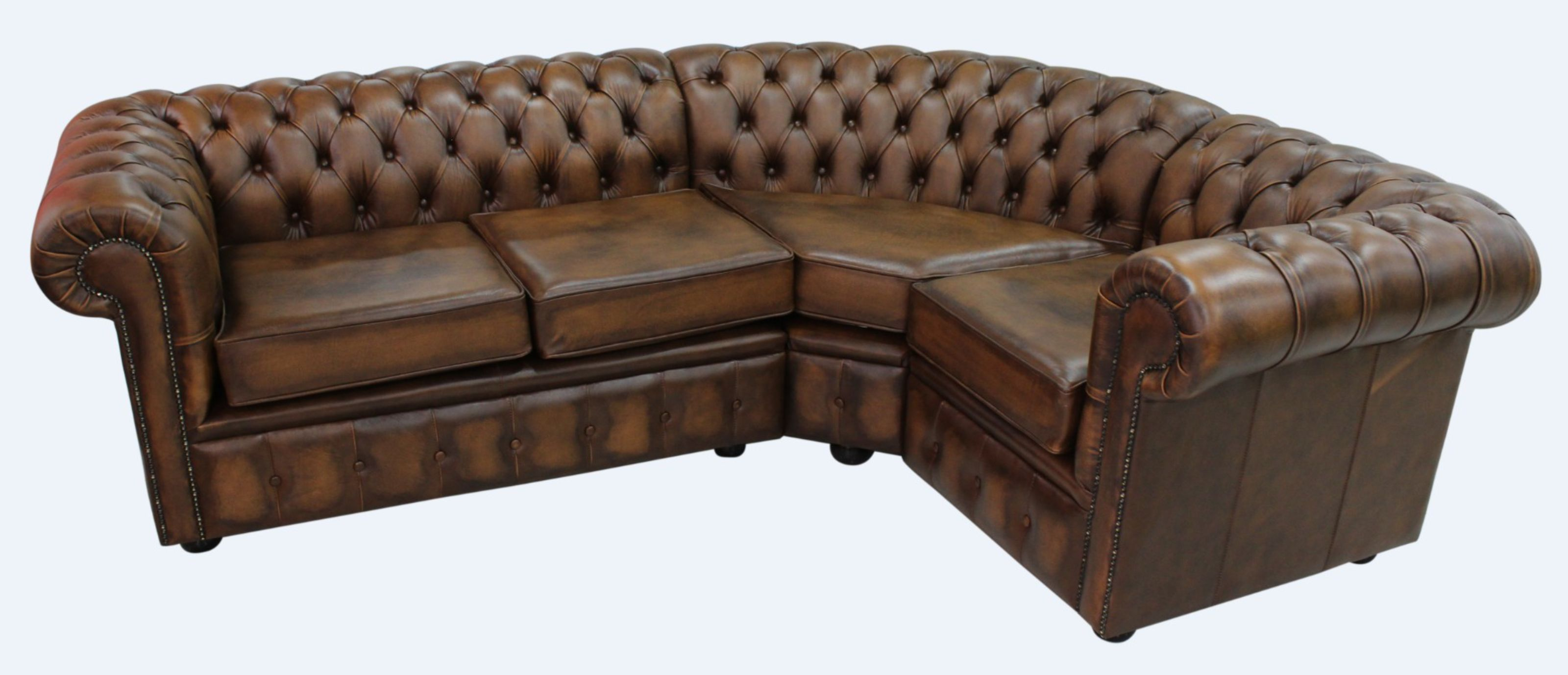 chesterfield sectional sofa suppliers pipe set corner 2 seater 1 antique tan leather