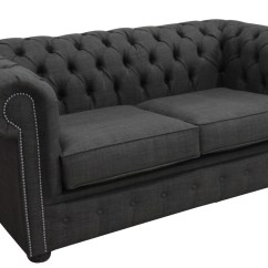 Gray Linen Chesterfield Sofa Cheap Black Leather Corner Dark Grey Velvet Baci Living Room