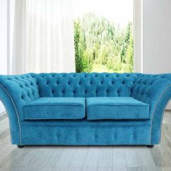 Teal Sofas Grey Sofa And Loveseat Slipcovers Buy Fabric Chesterfield At Designersofas4u