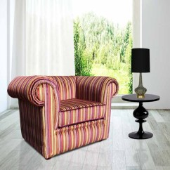 Velvet Chesterfield Sofa Prices Most Comfortable Reviews Uk Sale Club Chair Buy Now Pay Later Low Back Armchair Riga Multi Stripe