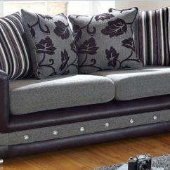 Grey Fabric Sofa Uk Sofas Y Sillones Baratos En Barcelona Buy Handcrafted British Furniture 3 Seat Made To Las Vegas Seater Swarovski Crystal Diamante