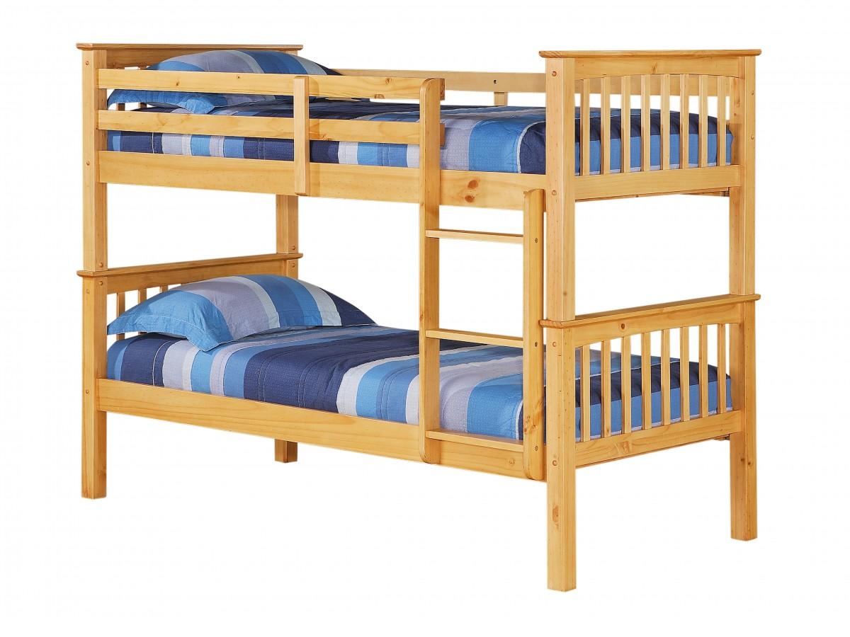 single pine futon sofa bed with mattress wooden leg porto bunk
