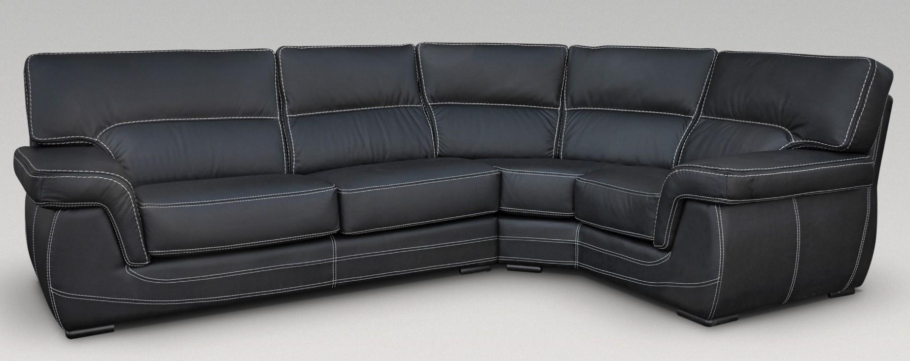 black grey corner sofa sale feather down sectional babylon-corner-group-italian-leather-sofa-black.jpg