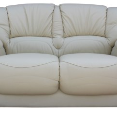 Cheap Cream Sofa Wooden Set For Garden Susanna Italian Leather 2 Seater Settee Offer