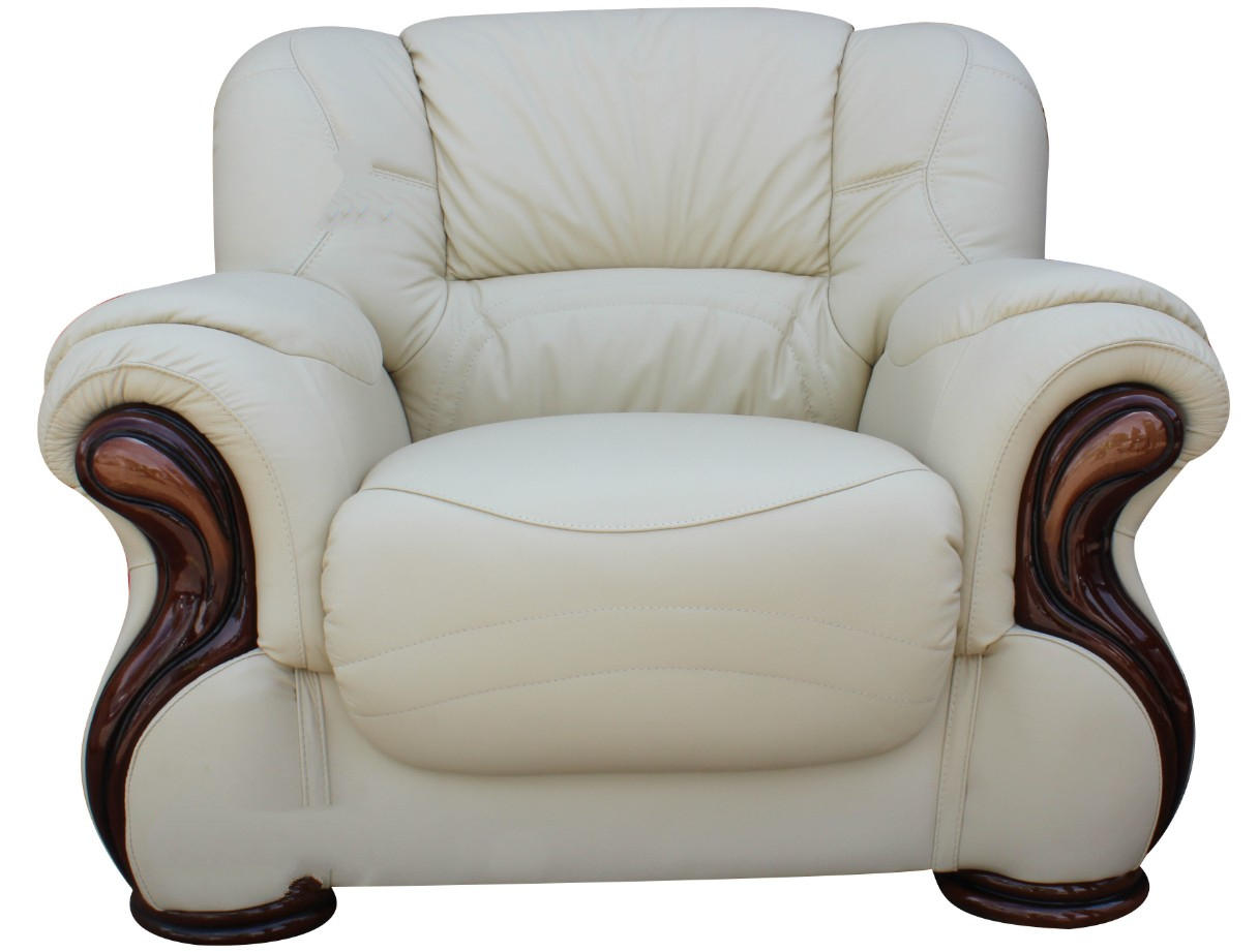cream leather sofa set uk with mattress susanna italian armchair offer