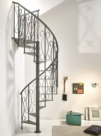 Unique T110 Spiral Staircase  Designer Stairs