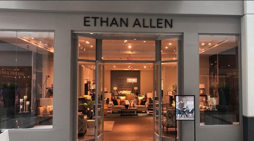 ethan allen opens new format design