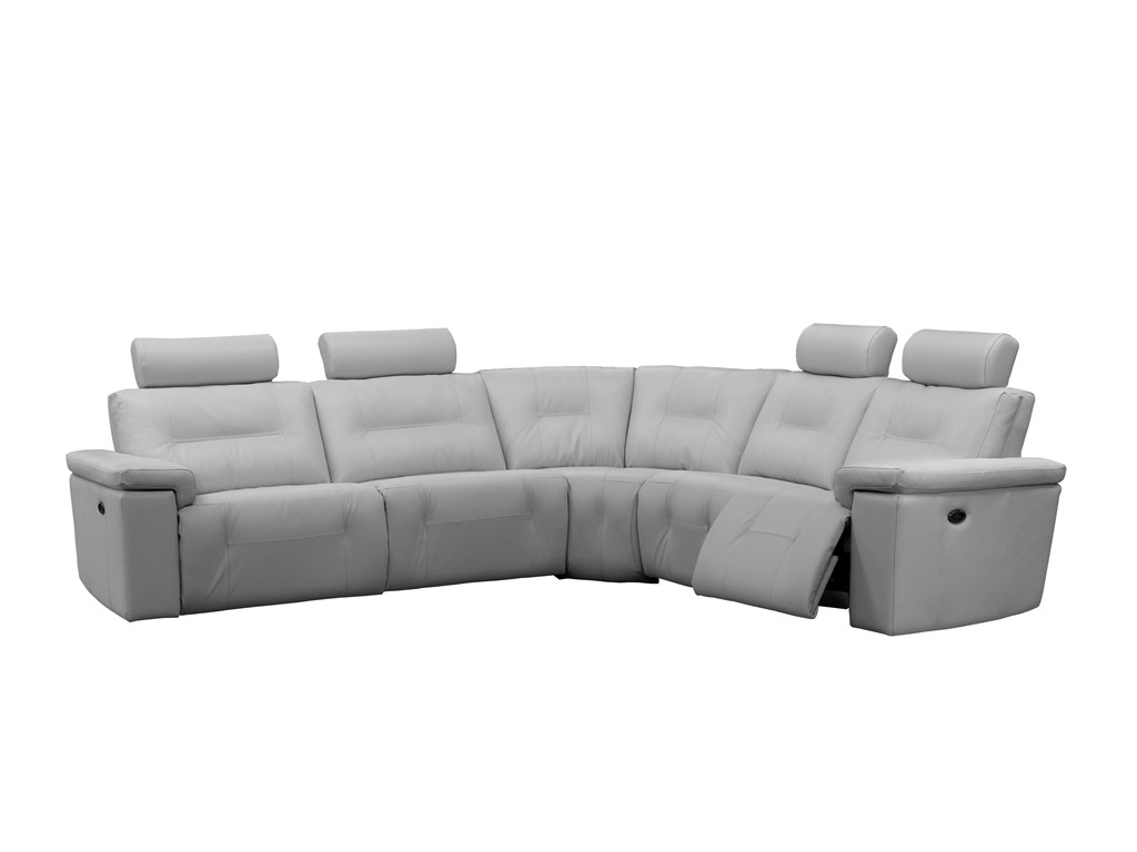 Axel Reclining Sectional By Elran