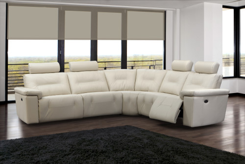 Modern Furniture  Axel Reclining Sectional By Elran