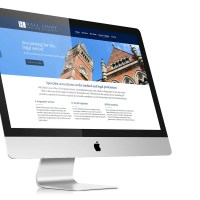 Medical Accountant Website Design for Hall Liddy, Manchester