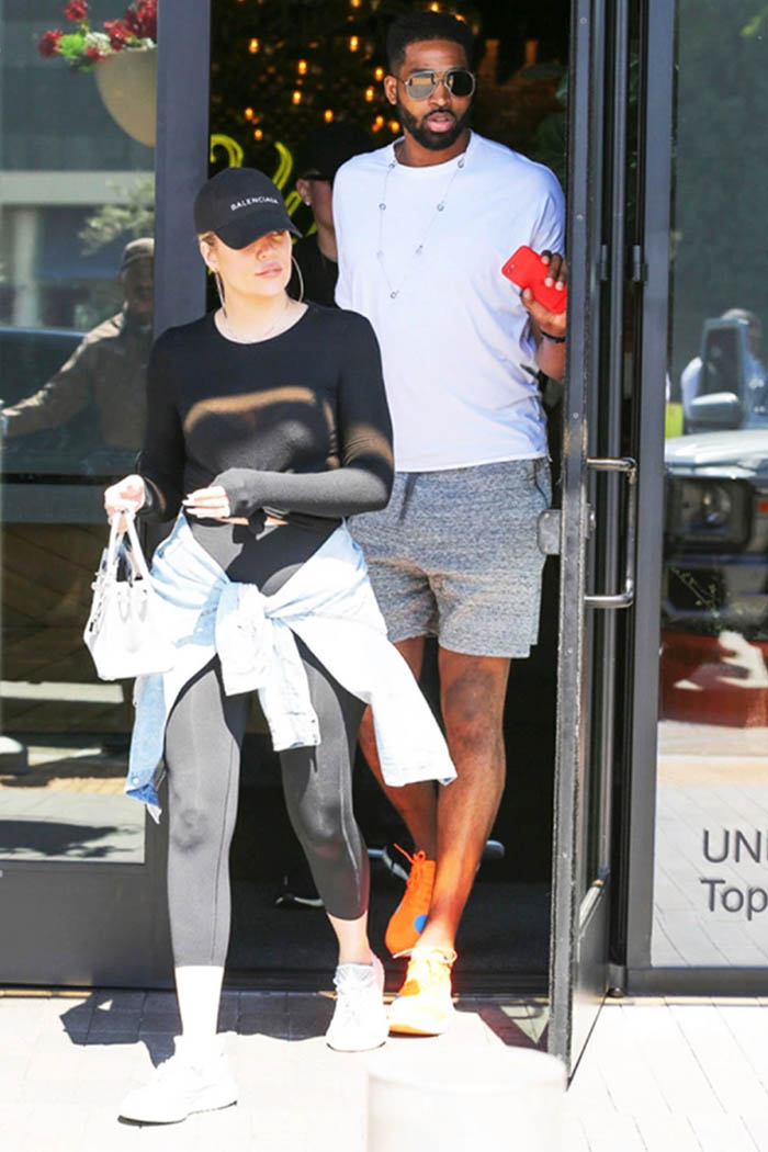 Khloe Kardashian pregnant and engaged to Tristan Thompson ...