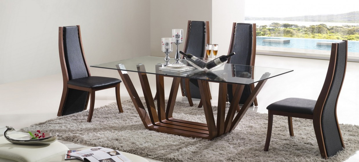 Table Manger Design En Bois Berobella