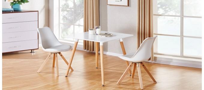 table a manger design en bois isola
