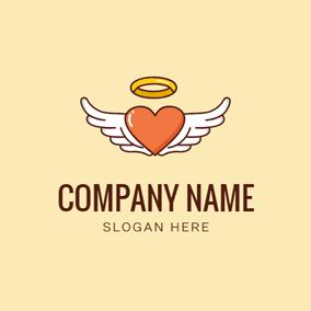 free angel logo designs