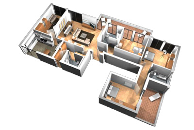 House Plan Traffic Patterns Design Evolutions Inc GA