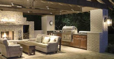 ideas for outdoor living spaces - kitchen