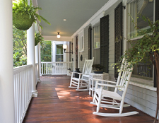 ideas for outdoor living spaces - Porch