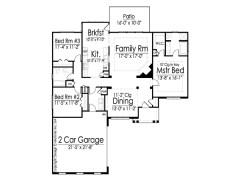 Hilliard floor plan